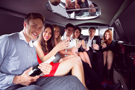 LIMOUSINE HIRE FOR NIGHT OUTS IN LEEDS
