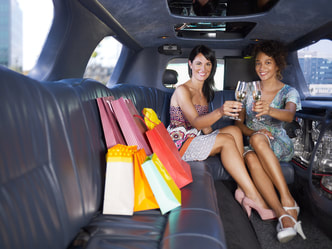 Shopping Trip Limousine Hire Leeds